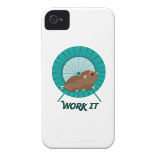 Work It iPhone 4 Cases