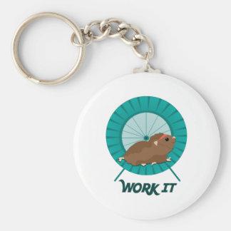 Work It Keychains