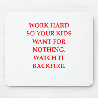 WORK MOUSE PAD