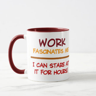 Work mugs - choose style & color