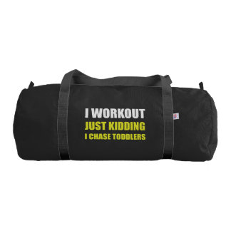 Work Out Just Kidding Chase Toddlers Gym Bag