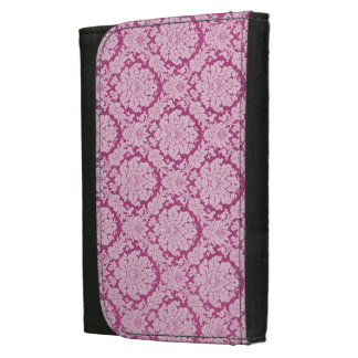 Work-Play-Pink berry-Damask-Stylish-Wallet's Women's Wallets