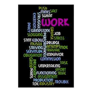 """Work"" Poster"