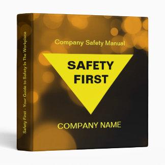 Work Safety Binder