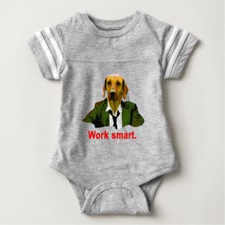 Work smart baby bodysuit