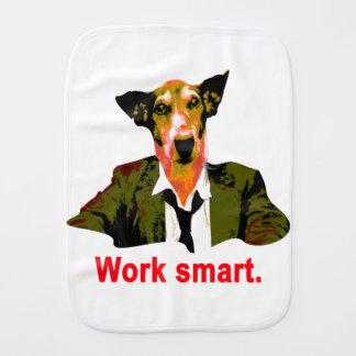 Work smart burp cloth