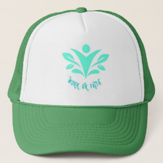 WORK UR FAITH TRUCKER HAT