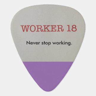 Worker 18 Guitar Picks! Guitar Pick