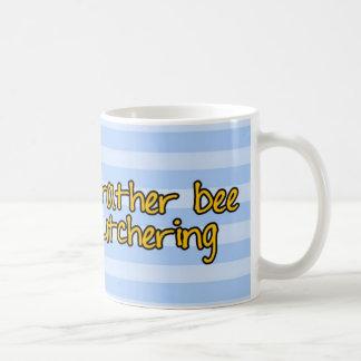 worker bee - butcher coffee mug