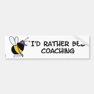 worker bee - coach bumper sticker