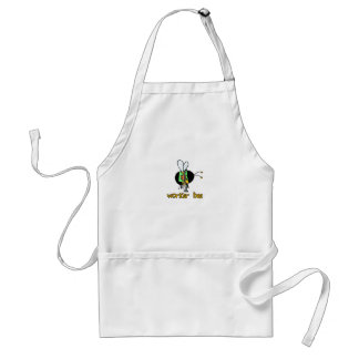 worker bee - paramedic adult apron