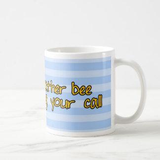 worker bee - sales classic white coffee mug