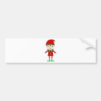 Worker Elf Bumper Sticker