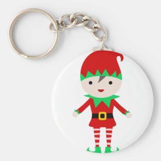 Worker Elf Keychain