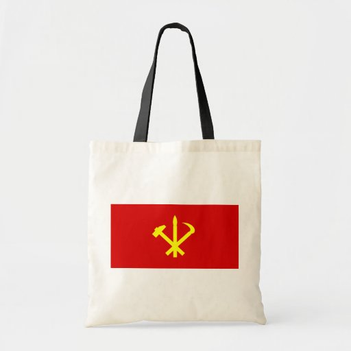 Workers'27 Party Of Korea, Colombia Political Tote Bags