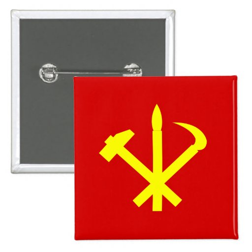 Workers'27 Party Of Korea, Colombia Political Pin