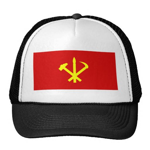 Workers'27 Party Of Korea, Colombia Political Mesh Hats