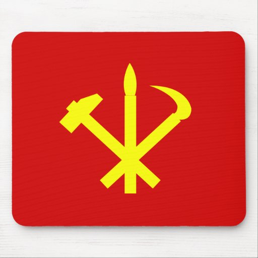 Workers'27 Party Of Korea, Colombia Political Mousepads
