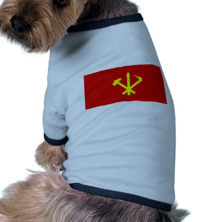 Workers 27 Party Of Korea Colombia Political Doggie Shirt