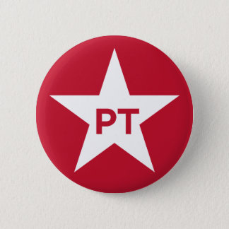 Workers' Party (Brazil) 2 Inch Round Button