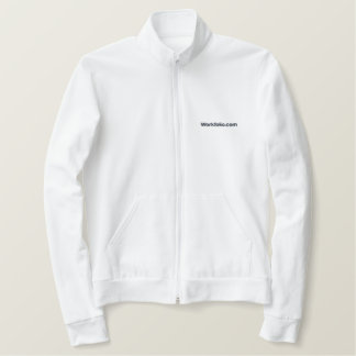 Workfolio Embroidered Jogger Jacket