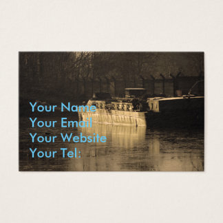 Working Barge Business Card