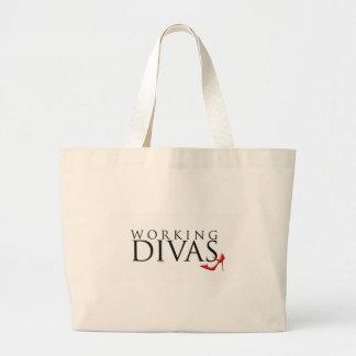 Working Divas Large Tote Bag