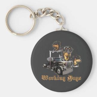 Working Dogs Keychain
