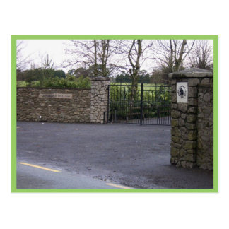 Working Entrance Of Castlemartin Stud In Kilcullen Postcard