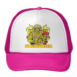 Working Firefighter Trucker Hats