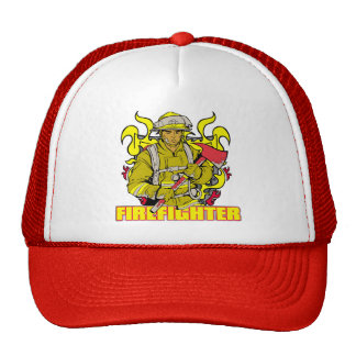 Working Firefighter Hat
