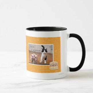 Working kitteh mug