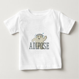 Working My Adipose Off - Exercise, Working Out Baby T-Shirt