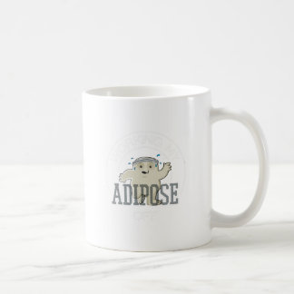Working My Adipose Off - Exercise, Working Out Coffee Mug