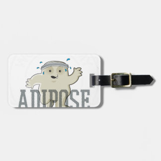 Working My Adipose Off - Exercise, Working Out Luggage Tag