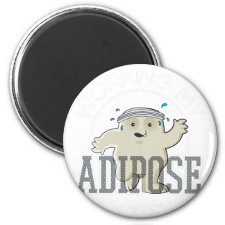 Working My Adipose Off - Exercise, Working Out Magnet
