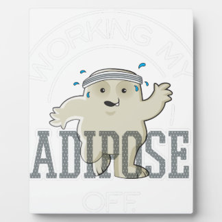 Working My Adipose Off - Exercise, Working Out Plaque