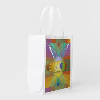 working on stuff reusable grocery bag
