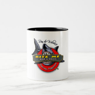 WORKING-SHARK-LOGO Two-Tone COFFEE MUG