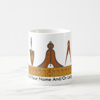 Working Tools of the Freemason Coffee Mug