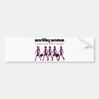 Working Women Bumper Sticker