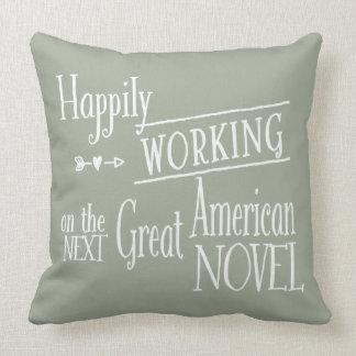 Working Writer Pillow