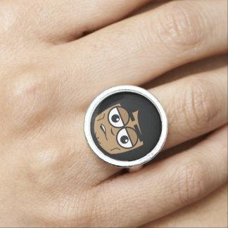 Workingman Face Ring