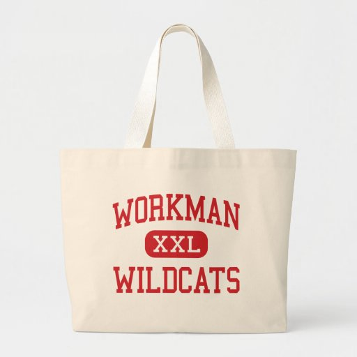 Workman - Wildcats - Junior - Arlington Texas Tote Bags