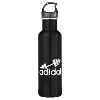 Workout - All Day I Dream About Lifting - Barbell 710 Ml Water Bottle