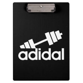 Workout - All Day I Dream About Lifting - Barbell Clipboard