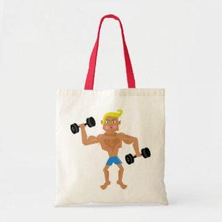 Workout Budget Tote Bag