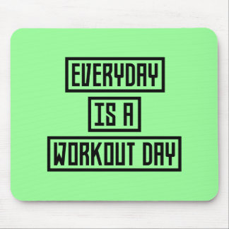Workout Day fitness Z2y22 Mouse Pad