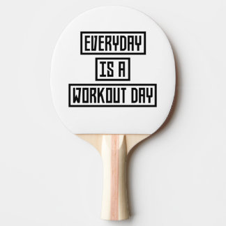 Workout Day fitness Z2y22 Ping Pong Paddle