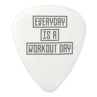 Workout Day fitness Z2y22 Polycarbonate Guitar Pick
